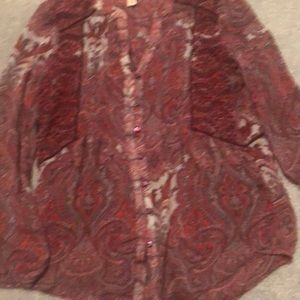 Lucky Brand Tops - Lucky Brand blouse